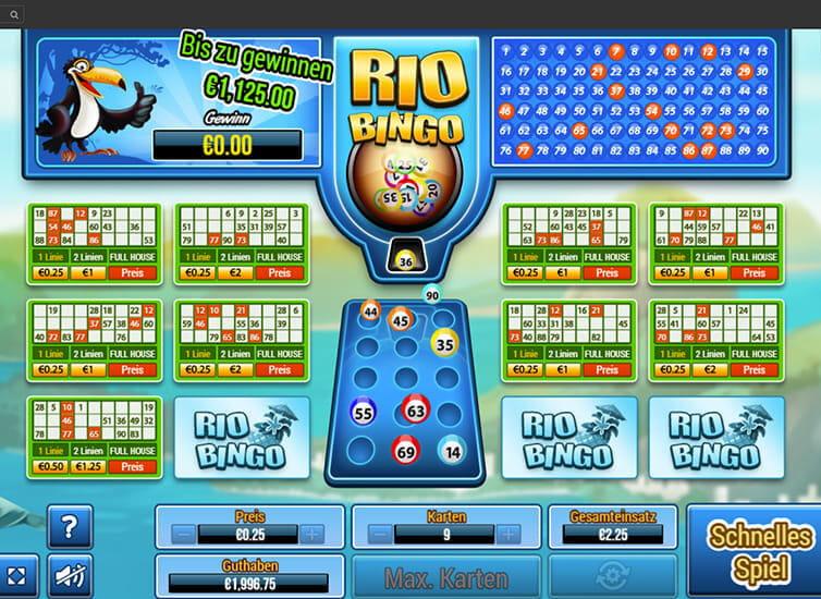Bingo Ziehung Heute