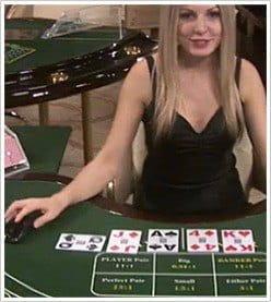 Live Dealer Baccarat - Spielen Sie Live-Baccarat online