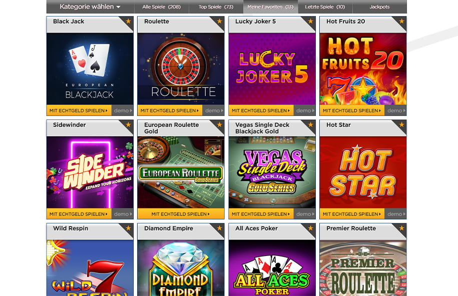 Play for fun no download casino games