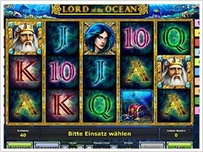 Das 5-Walzen Slotspiel Lord of the Ocean