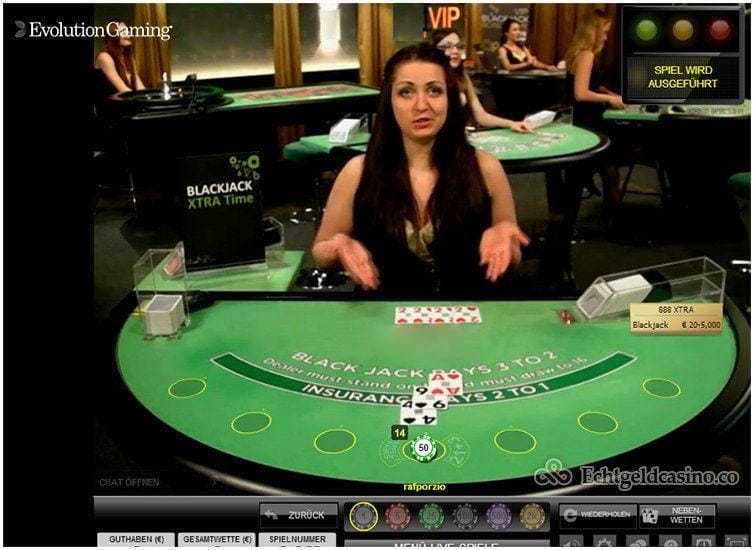 Live Unlimited Blackjack | Casino.com in Deutsch