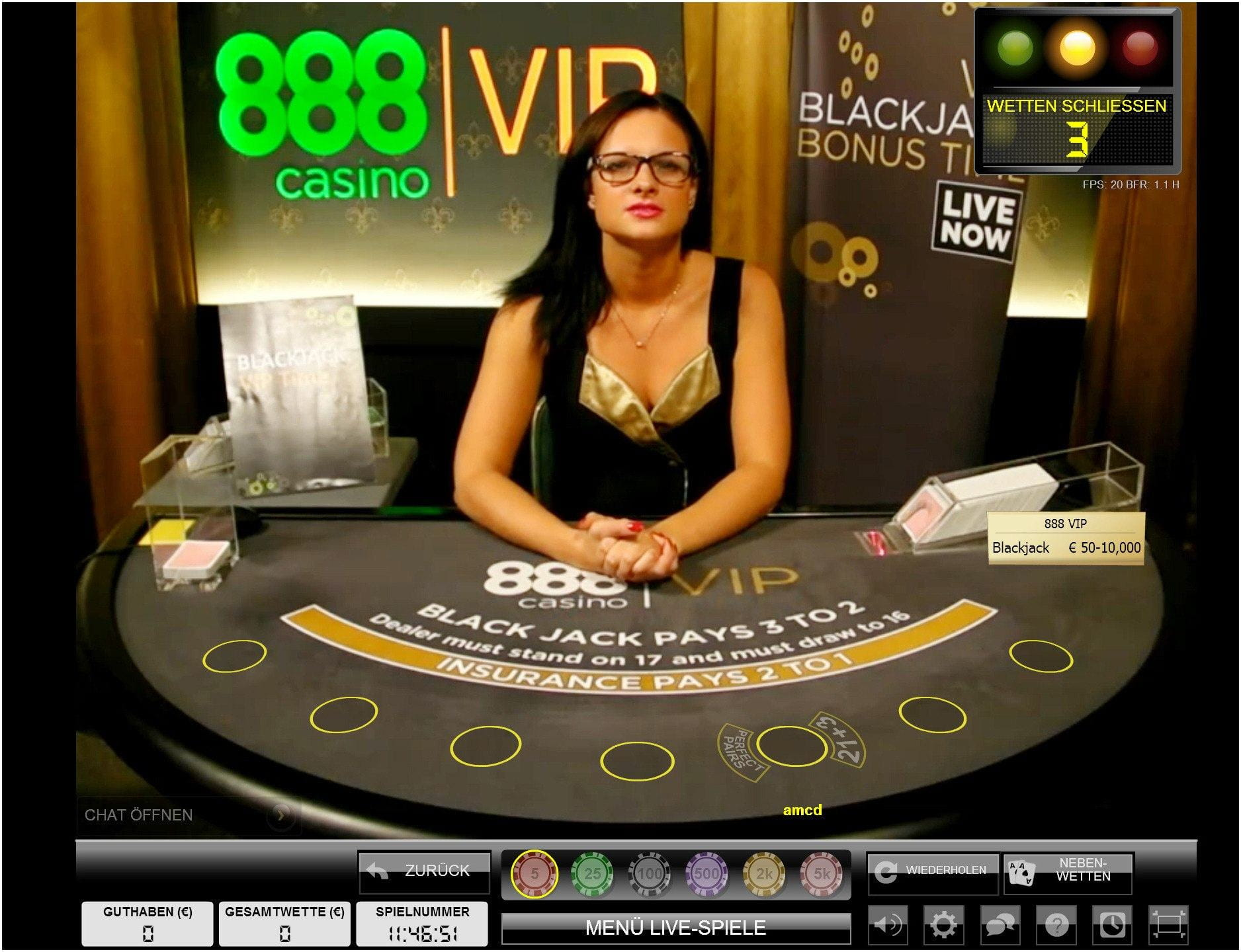 Live blackjack casino casino cigar