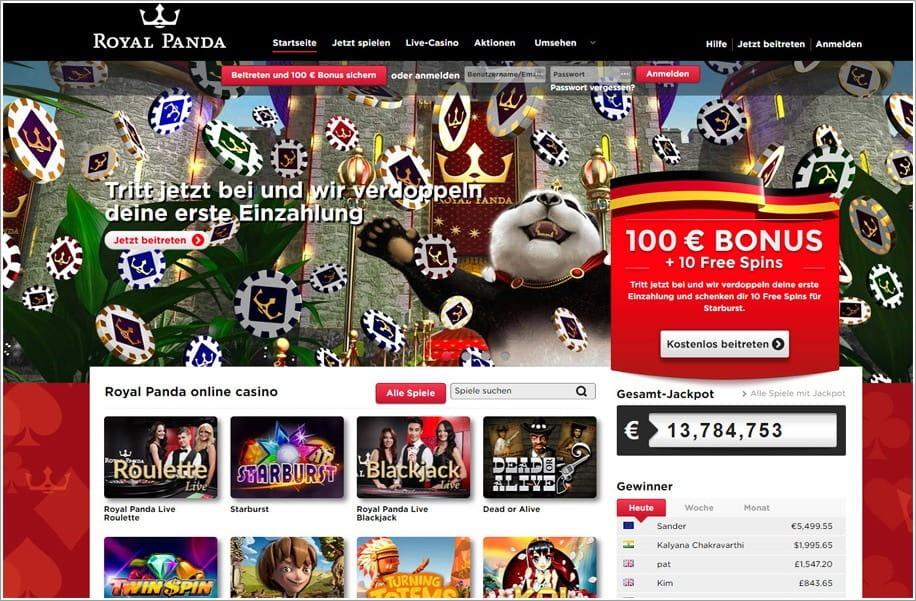 Suomi Casino Royal Panda